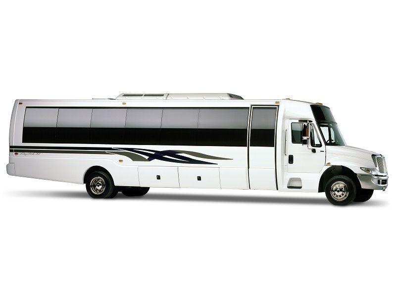 New York Mini Coach Bus 44 Passenger Mini Coach Bus