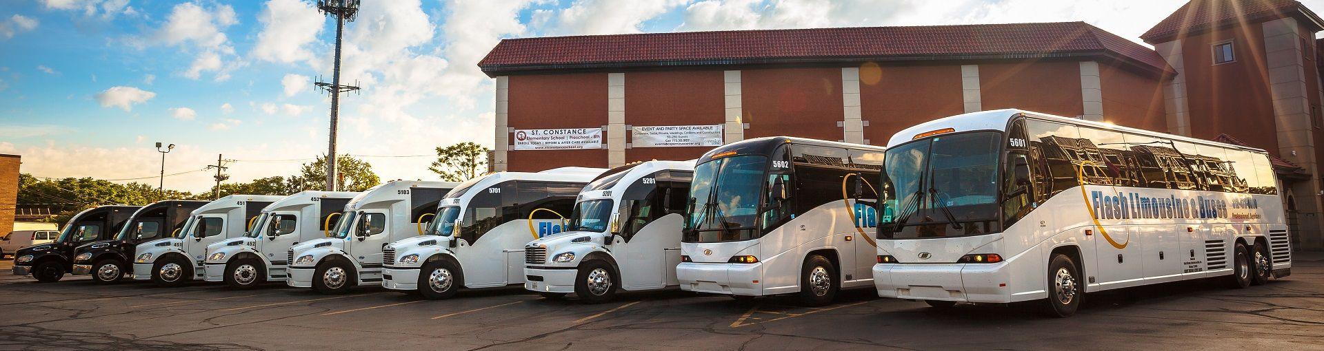 Coach Bus Transportation Chicago Motor Coach Bus and Shuttle Bus Transportation